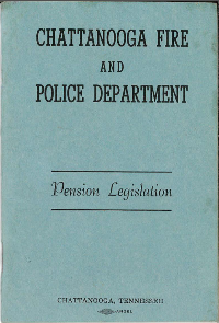 1972 Pension Booklet